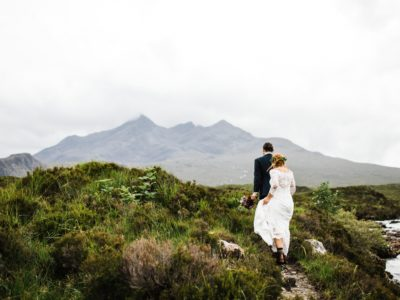 Isle of Skye Elopement : Jess & Andreas